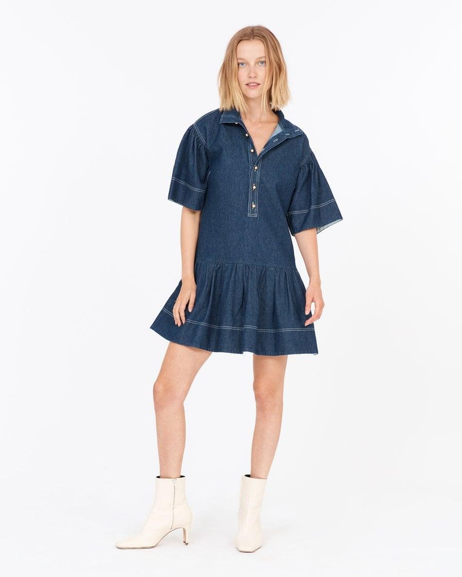 <p>The great thing about this <span>Tanya Taylor Kenley Dress</span> ($445) is that you can wear it year-round. We love a versatile investment.</p>