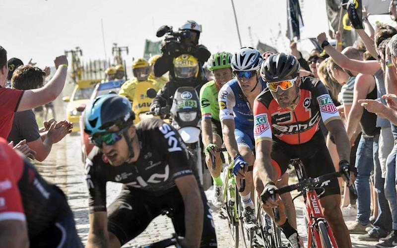 Greg Van Avermaet will return as reigning Paris-Roubaix champion, but can the Belgian become the first rider since Tom Boonen in 2009 to win back-to-backtitles on Sunday? - AFP