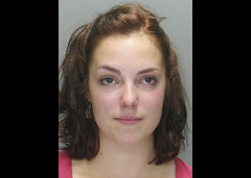 FILE - This June 26, 2007 booking photo released by the Warwick, R.I., Police Department on Wednesday, May 1, 2013, shows Katherine Russell, after her arrest on shoplifting charges in Warwick. Charges were later dismissed. Russell, the widow of Boston Marathon bombing suspect Tamerlan Tsarnaev, has hired a prominent criminal lawyer with experience defending terrorism cases as she continues to face questions from federal authorities. (AP Photo/Warwick Police Department, File)
