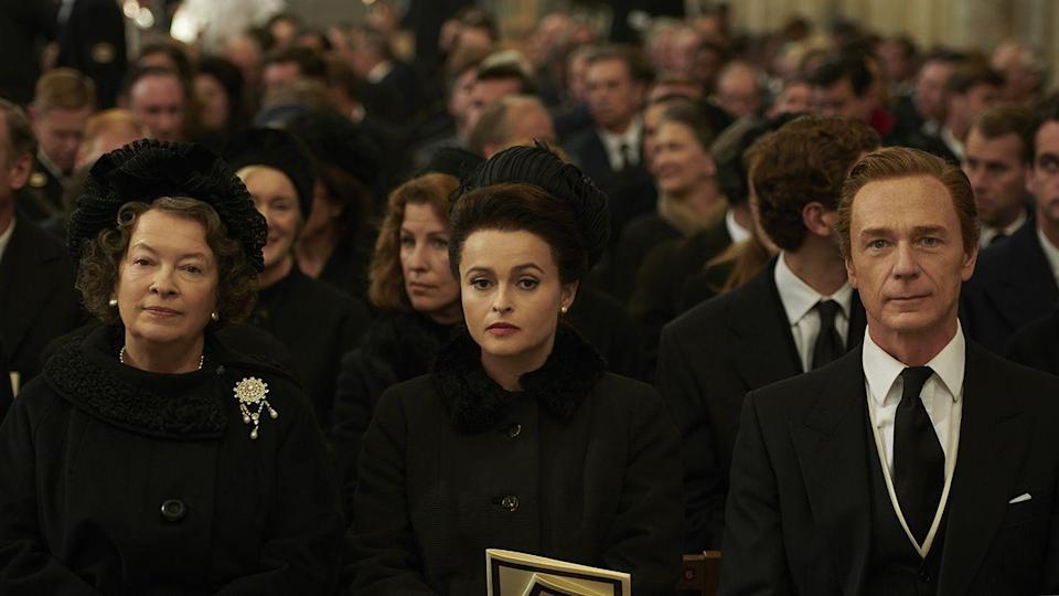 <p>Helena Bonham-Carter took over from Vanessa Kirby as Margaret, to display the Royal family between the 1960s and 1990s. </p>