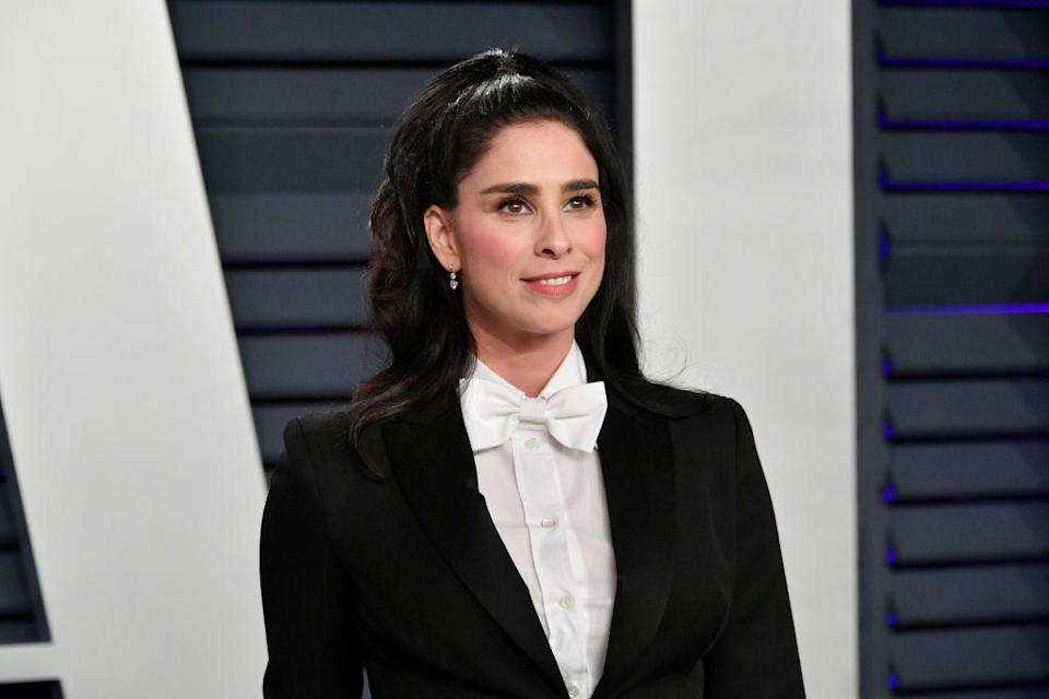 "<p>Sarah Silverman <a href=""https://www.glamour.com/story/sarah-silverman-on-i-smile-back-and-battle-with-depression"" rel=""nofollow noopener"" target=""_blank"" data-ylk=""slk:told Glamour"" class=""link rapid-noclick-resp"">told <em>Glamour</em></a> that she first started dealing with depression when she was 13—and the panic attacks followed closely after. ""I went from being the class clown to not being able to see life in that casual way anymore. I couldn't deal with being with my friends, I didn't go to school for months, and I started having panic attacks,"" Silverman said. ""People use 'panic attack' very casually out here in Los Angeles, but I don't think most of them really know what it is. Every breath is labored. You are dying. You are <em>going to die</em>. It's terrifying."" The 48-year-old comedian says seeing a therapist and taking medication saved her life.</p>"