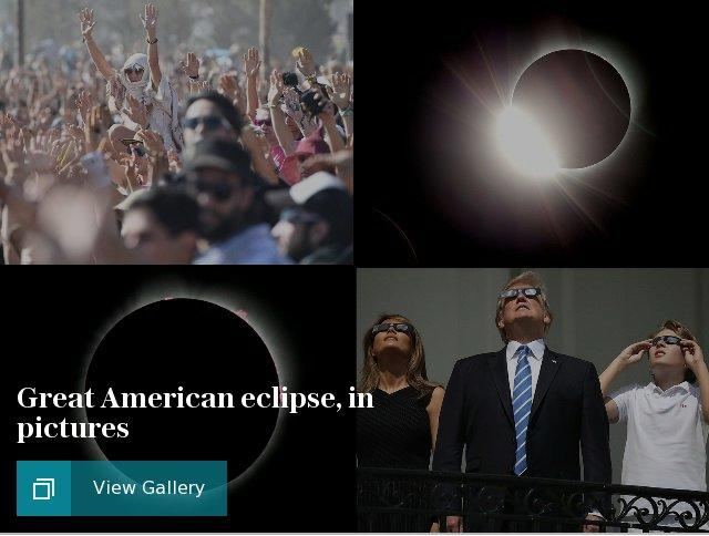 Great American eclipse, in pictures