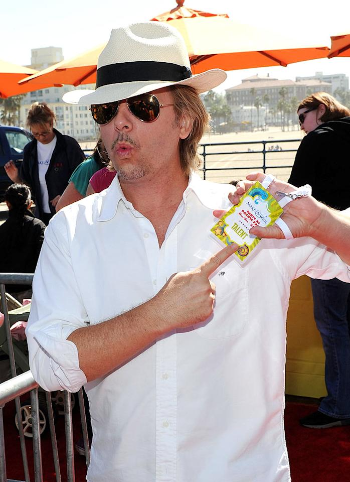 """Rules of Engagement"" star David Spade showed up solo to support the cause. Do you think the ladies man tried to pick up any single moms? Michael Buckner/<a href=""http://www.gettyimages.com/"" target=""new"">GettyImages.com</a> - March 14, 2010"