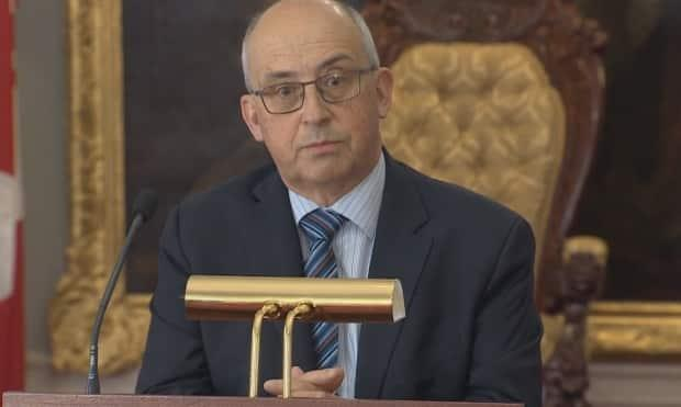 NDP Leader Gary Burrill says the issue of paid sick leave cannot be left to employers and employees to determine. (CBC - image credit)