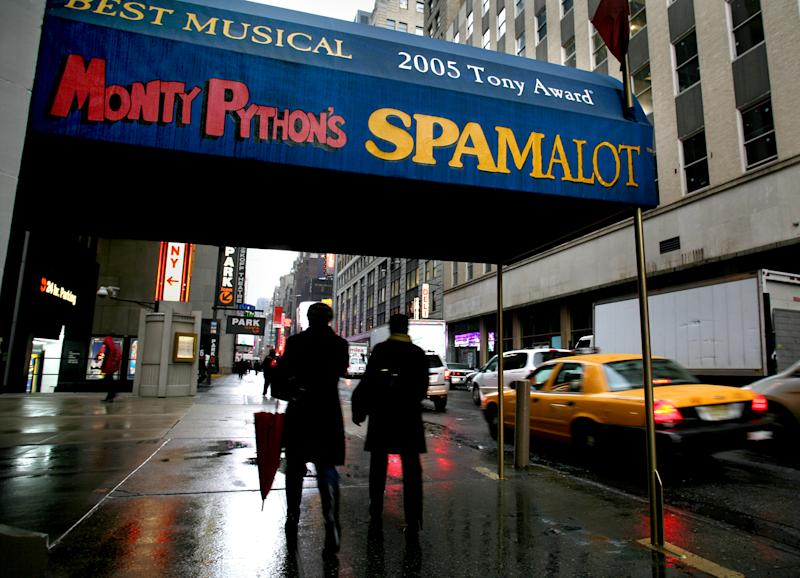 Producer sues Pythons over 'Spamalot' royalties
