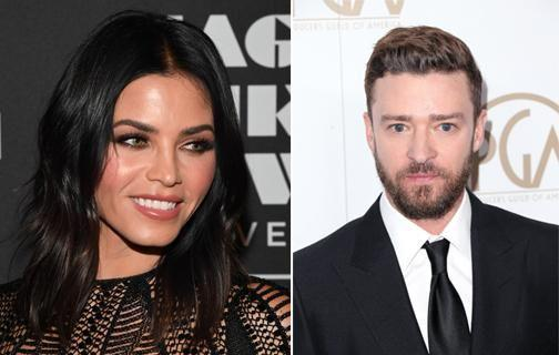 Jenna Dewan and Justin Timberlake dated briefly when she was his back-up dancer. Source: Getty