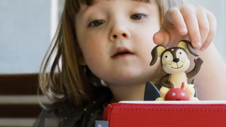 The Toniebox inspires kids to really listen to what they're hearing.