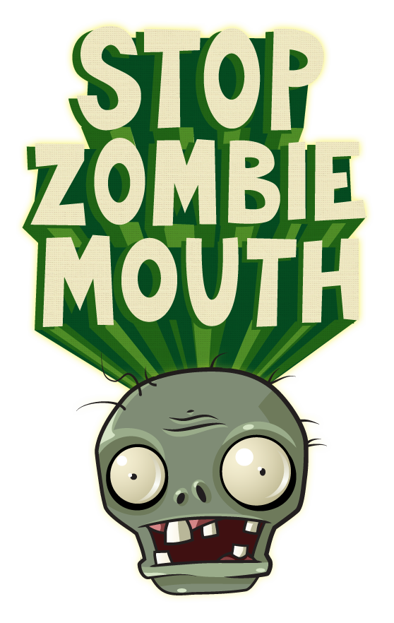 stop zombie mouth free plants vs zombies