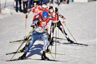 """<p><strong>Age:</strong> 31</p><p><strong>Hometown:</strong> Steamboat Springs, CO</p><p><strong>Event:</strong> Nordic Combined</p><p>Ski jumping not exciting enough for you? Enter Nordic combined — an ultra-challenging Olympic event that requires athletes to master not only that high-flying sport, but cross-country skiing as well. To tackle both disciplines, Bryan Fletcher puts about 600 hours per year into building his endurance and some 550 additional hours doing weights, plyometrics and runs on the jump hill. Though he needs to remain lean for jumping, Fletcher also requires ample energy to power through a 10 to 15 kilometer race on skis. """"You need a pretty big engine and aerobic capacity,"""" he says.</p>"""