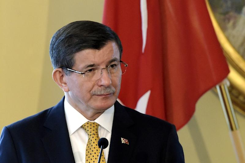 The leaked database contains personal data of Turkish Prime Minister Ahmet Davutoglu, as well as millions of citizens (AFP Photo/Markku Ulander)