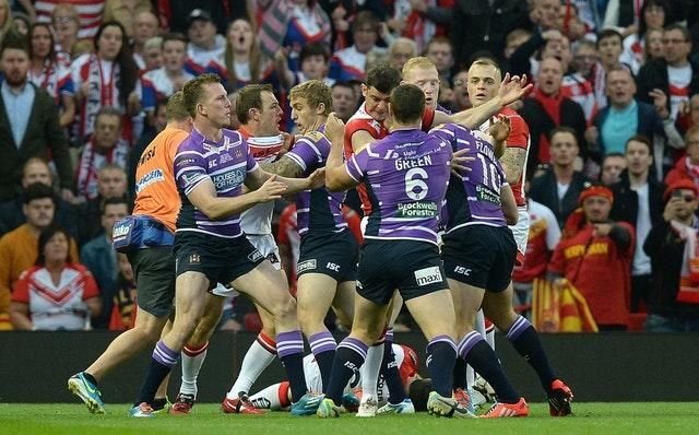Rugby League – First Utility Super League Grand Final – St Helens v Wigan Warriors – Old Trafford