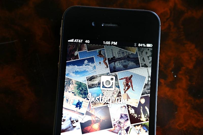 The Instagram logo, as displayed on an Apple iPhone