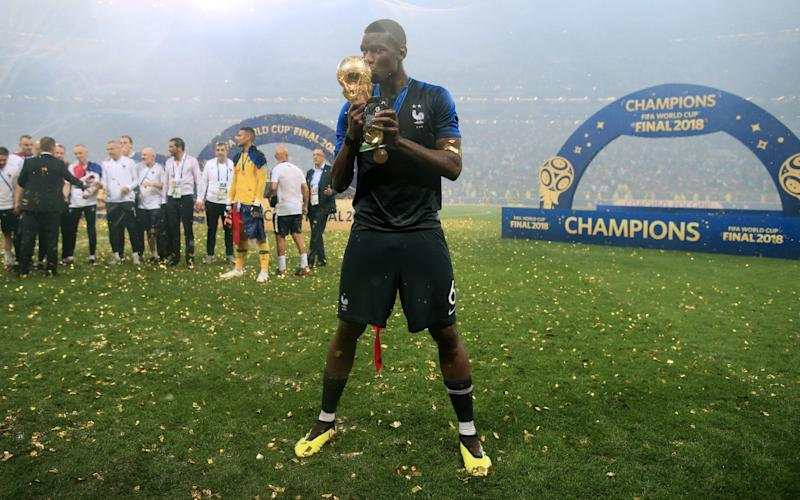 Paul Pogba starred as France won the World Cup last week - Offside