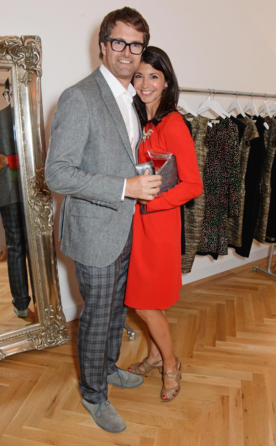The adviser is married to her multi-millionaire fashion tycoon husband Oliver Tress who founded high street chain Oliver Bonas (David Benett)