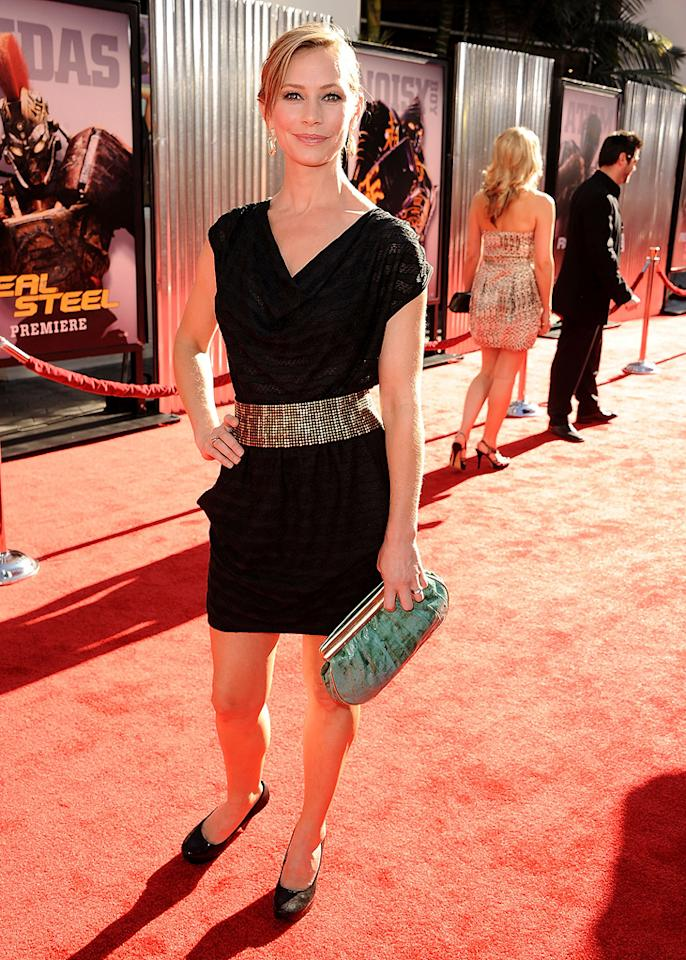 "<a href=""http://movies.yahoo.com/movie/contributor/1804408092"">Meredith Monroe</a> at the Los Angeles premiere of <a href=""http://movies.yahoo.com/movie/1810130487/info"">Real Steel</a> on October 2, 2011."