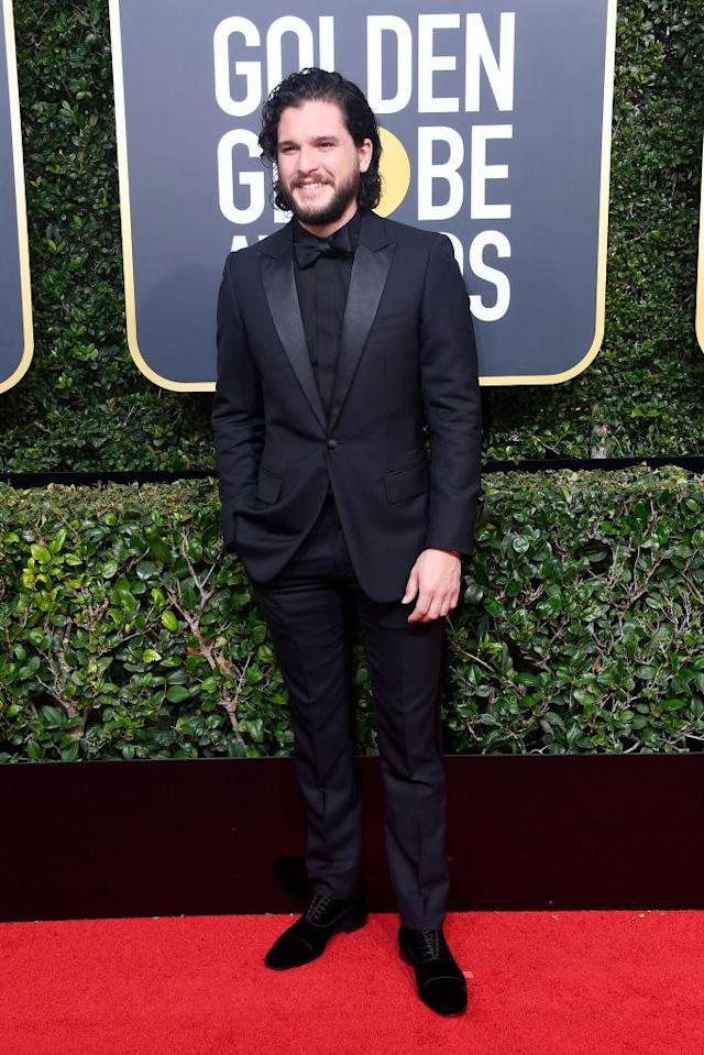 <p>The <em>Game of Thrones</em> actor attends the 75th Annual Golden Globe Awards at the Beverly Hilton Hotel in Beverly Hills, Calif., on Jan. 7, 2018. (Photo: Steve Granitz/WireImage) </p>