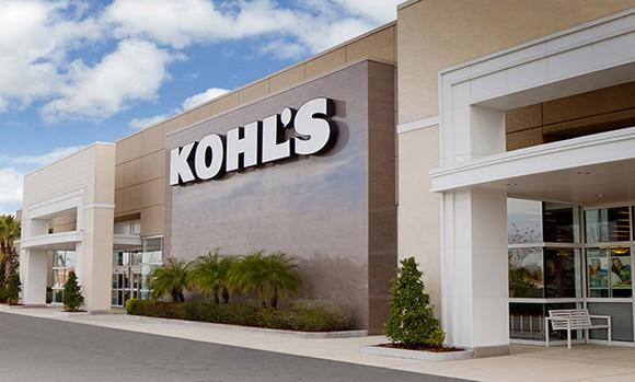 The exterior of a Kohl's store.