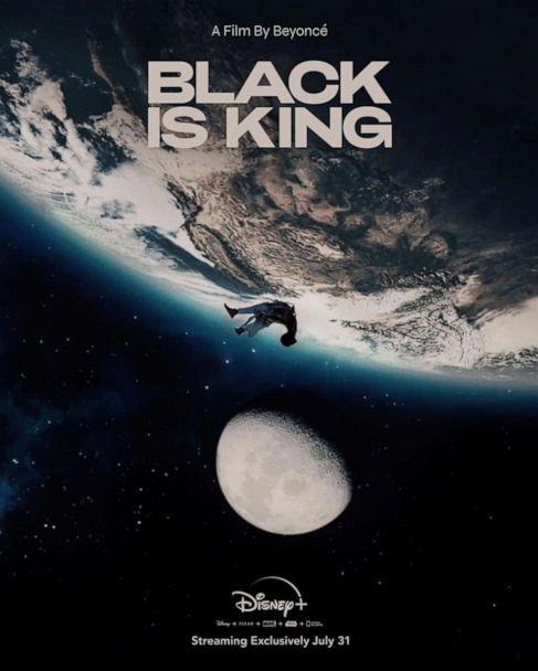 PHOTO: The poster for Beyonce's new visual album, Black Is King. (Disney+)