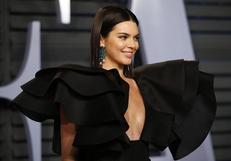 Setting the record straight: Kendall Jenner responded to rumours about her sexuality but remained coy on Blake Griffin romance: Reuters