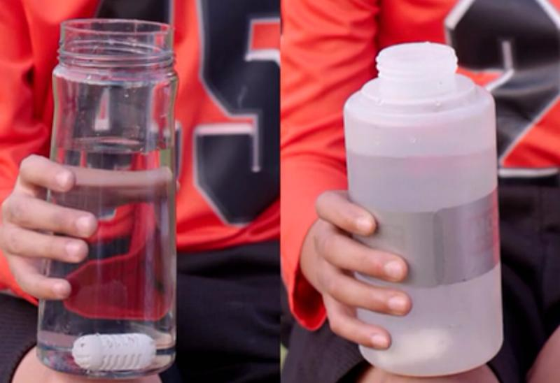 Don't drink nasty tap water or waste money on single-use water bottles