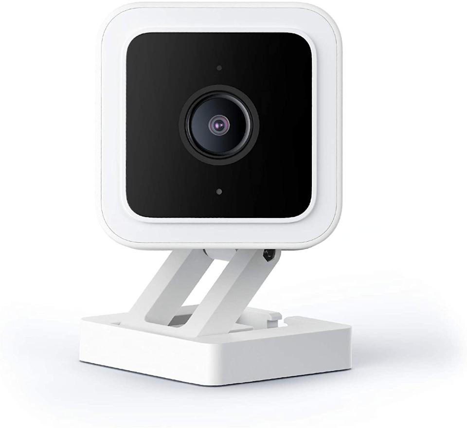 <p>Stay safe and secure with the <span>Wyze Cam</span> ($33). It's a smart-home camera with night vision and two-way audio! The Wyze Cam v3 is a wired water-resistant, video camera that you can confidently install outside in the rain or inside in the kids' room.</p>