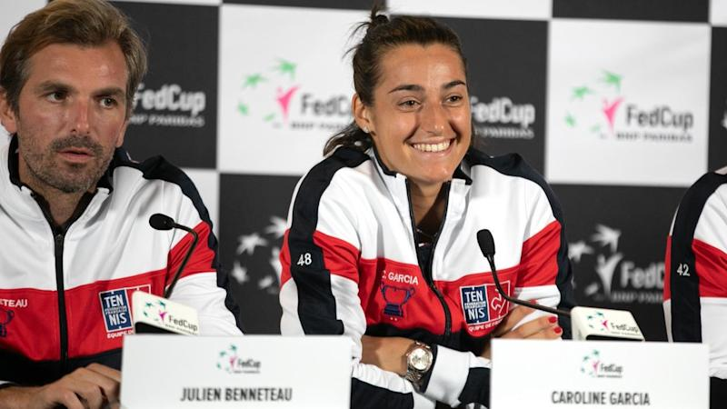 TENNIS FED CUP FINALS TRAINING SESSIONS