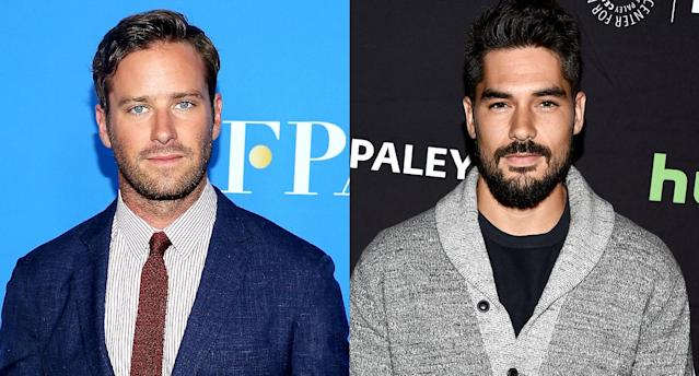 Armie Hammer and D.J. Cotrona were cast as Batman and Superman in <i>Justice League: Mortal</i> (Photo: Getty Images)