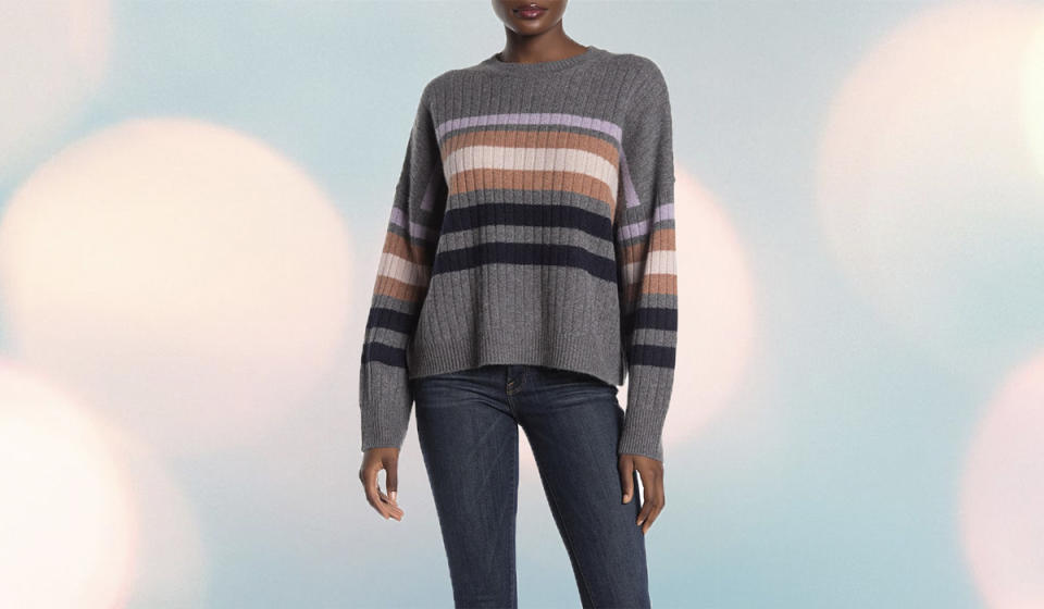 You'll want to spend all weekend in this cozy knit. (Photo: Nordstrom Rack)