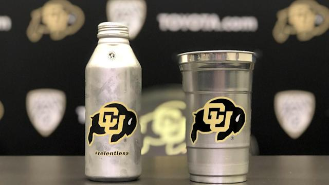 Beer drinkers at CU football games won't have plastic cups this season. (Colorado athletics)