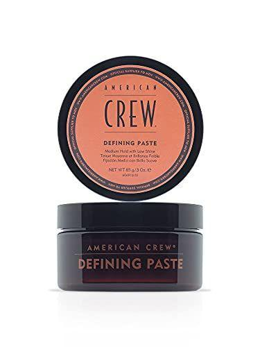 """<p><strong>AMERICAN CREW</strong></p><p>amazon.com</p><p><strong>$18.50</strong></p><p><a href=""""https://www.amazon.com/dp/B002CMVU7Q?tag=syn-yahoo-20&ascsubtag=%5Bartid%7C2139.g.37755109%5Bsrc%7Cyahoo-us"""" rel=""""nofollow noopener"""" target=""""_blank"""" data-ylk=""""slk:BUY IT HERE"""" class=""""link rapid-noclick-resp"""">BUY IT HERE</a></p><p>Ideally suited for medium-length hair, this hair paste contains beeswax, which gives it a stronger, yet still flexible hold. The matte finish makes it seem like all that texture and piecieness just comes naturally.</p>"""