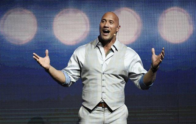 "Dwayne ""The Rock"" Johnson has found fame as an actor and a professional wrestler, but one fan wants to see him pursue a new career in politics (AP)"