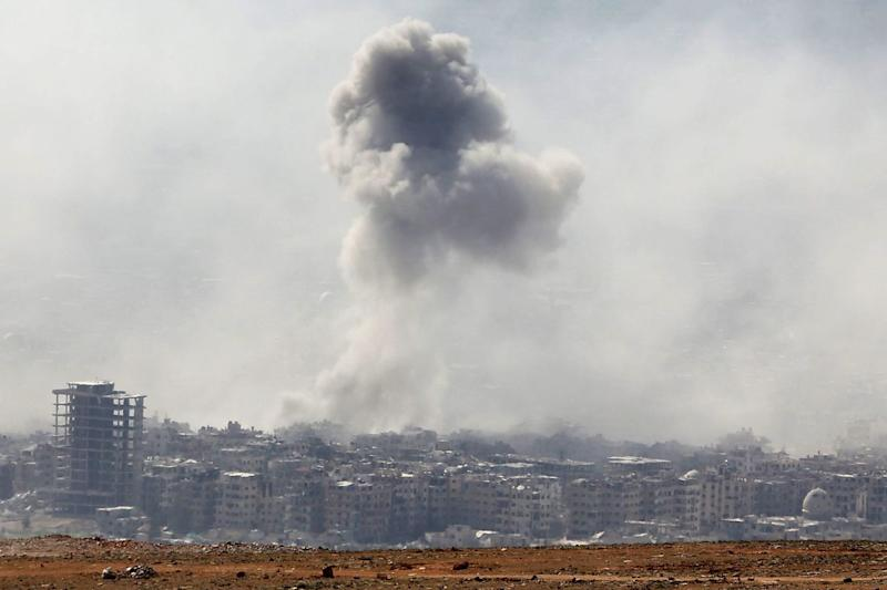 The Latest: UN Seeks Way to Address Chemical Arms in Syria
