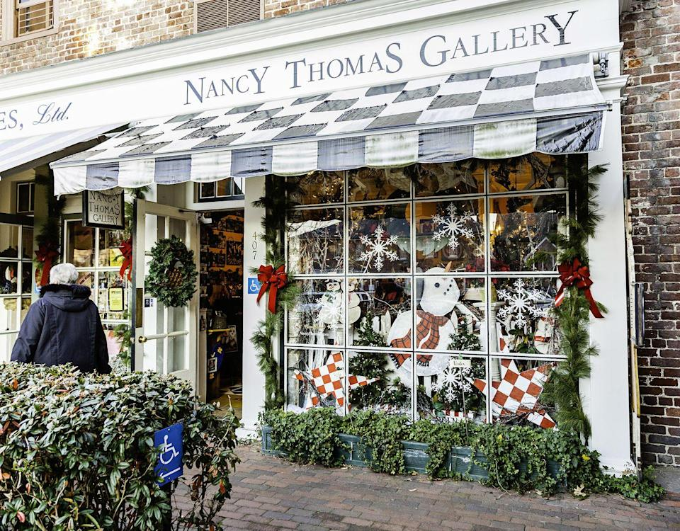 """<p>Williamsburg's numerous historical and Christmasy events make it another great place for history buffs to visit this holiday season. The Jamestown Settlement and the American Revolution Museum at Yorktown host <a href=""""https://www.visitwilliamsburg.com/events/christmastide-virginia?profile_category=Seasonal%20Events"""" rel=""""nofollow noopener"""" target=""""_blank"""" data-ylk=""""slk:Christmastide"""" class=""""link rapid-noclick-resp"""">Christmastide</a>, an exhibit that recalls 17th- and 18th-century winter and holiday traditions through special programs. Consider taking a trip to <a href=""""https://williamsburgvacations.com/things-to-do/williamsburg-christmas/"""" rel=""""nofollow noopener"""" target=""""_blank"""" data-ylk=""""slk:Colonial Williamsburg"""" class=""""link rapid-noclick-resp"""">Colonial Williamsburg</a> for its Christmas traditions, like listening to Fife and Drum corps make their way down Duke of Gloucester Street. And you can always visit Busch Gardens, the Virginia-themed amusement park that turns into a Christmas town during the holidays. </p>"""