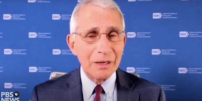 Dr Anthony Fauci PBS
