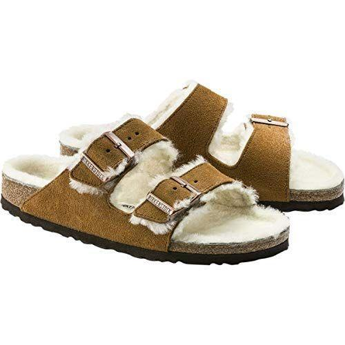 "<p><strong>Birkenstock</strong></p><p>amazon.com</p><p><strong>$150.00</strong></p><p><a href=""https://www.amazon.com/dp/B01ATZWQQQ?tag=syn-yahoo-20&ascsubtag=%5Bartid%7C10050.g.4835%5Bsrc%7Cyahoo-us"" rel=""nofollow noopener"" target=""_blank"" data-ylk=""slk:Shop Now"" class=""link rapid-noclick-resp"">Shop Now</a></p><p>Shearling-lined Birkenstocks are comfy enough to wear everyday around the house and stylish enough to wear when she's out running errands. </p>"