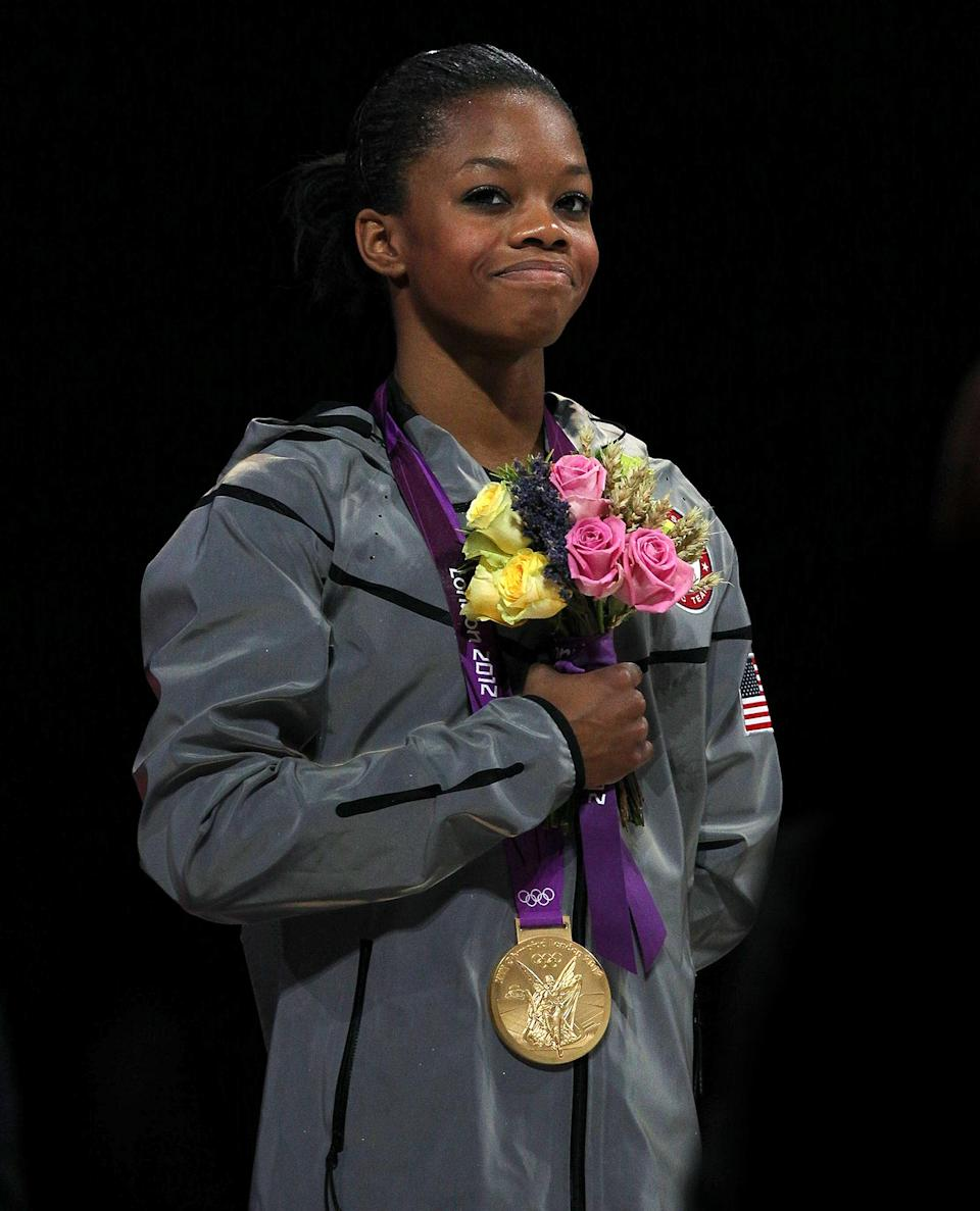 <p><strong>Year she won:</strong> 2012</p> <p><strong>Age at the time:</strong> 16</p> <p><strong>Other medals:</strong> Two gold from the team competitions in 2012 and 2016</p>