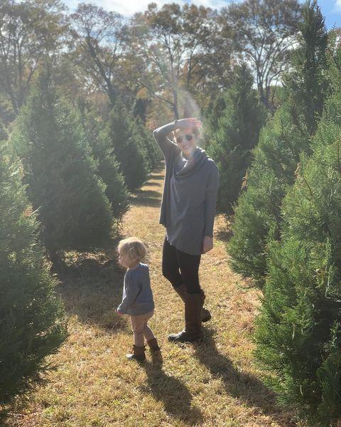 """<p>Of course Ben's post about Christmas tree shopping with his girls <a href=""""https://www.instagram.com/p/B5UFeI9lWC7/"""" rel=""""nofollow noopener"""" target=""""_blank"""" data-ylk=""""slk:turned into something sweetly sentimental."""" class=""""link rapid-noclick-resp"""">turned into something sweetly sentimental. </a></p>"""