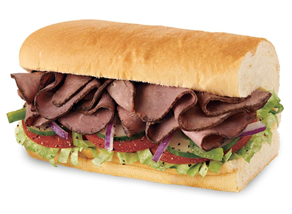 subway roast beef