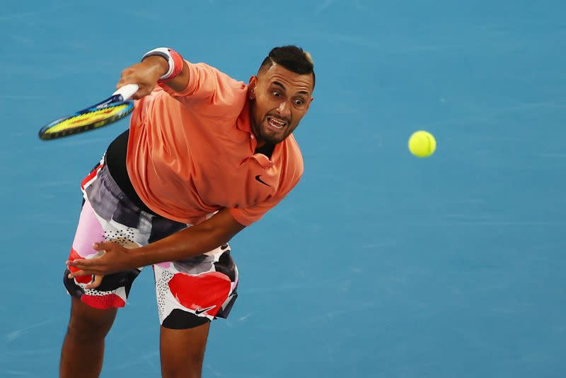 Kyrgios skipping U.S. Open, urges players to 'act responsibly'