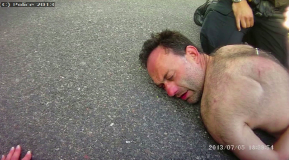 <em>Paul McClelland sued the police over his arrest in 2013 (PA)</em>