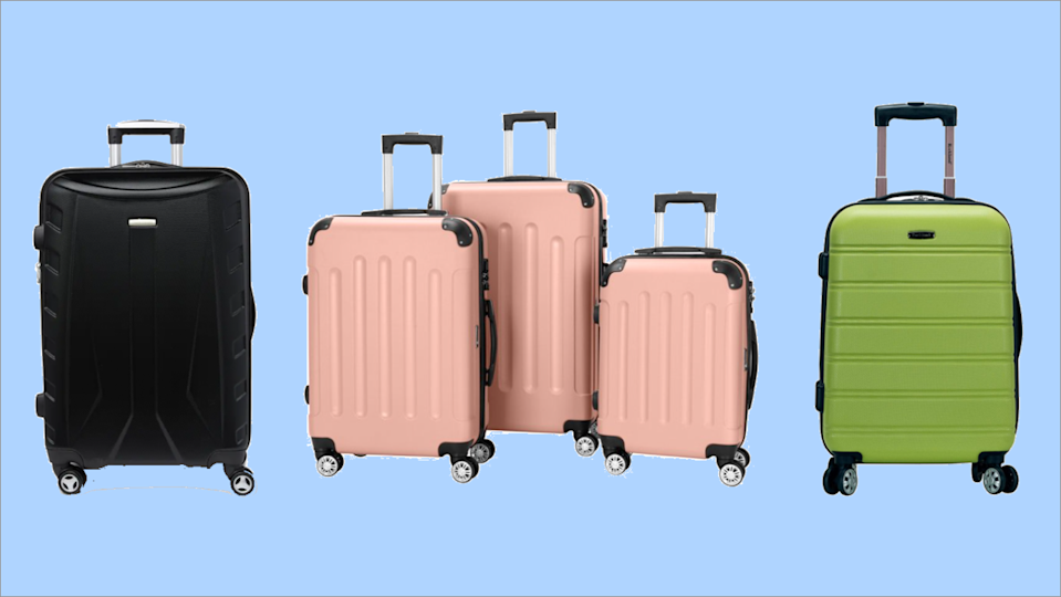Stay on-brand and price-savvy with bags from the likes of Samsonite, American Tourister and Travelpro (Photo: Yahoo Life)