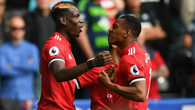 Manchester United's flying start to the Premier League season has reminded Ryan Giggs of highly successful Jose Mourinho teams of the past.