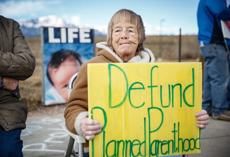 Buffer zones are needed to prevent anti-abortion protestors from harassing clients, clinics say. Photo from Getty Images