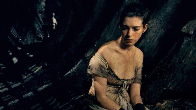 <p>Hathaway opened up about her painful transformation into Fantine for <em>Les Miserables</em>, for which she won an Oscar. (Photo: Universal Pictures) </p>