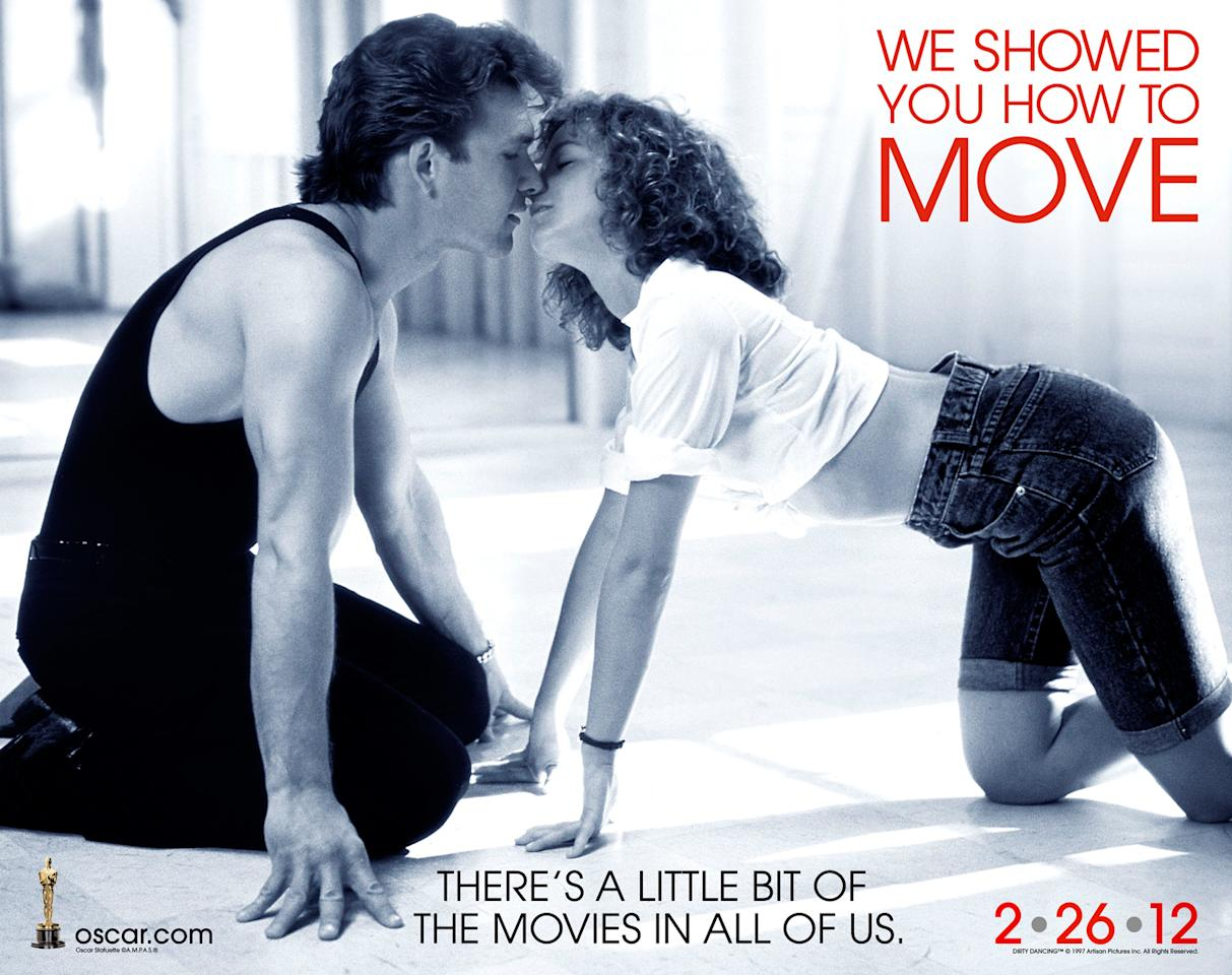 "<strong>Exclusive: 2012 Oscars Celebrate 'Dirty Dancing' </strong><br><br>The Academy Awards recently released a gallery that reminds movie fans of key moments from their favorite romantic films. Here's an exclusive at a scene from ""Dirty Dancing"" which reads: ""We showed you how to move."" Don't forget that Baby also showed us how to carry a watermelon! From ""Woman of the Year"" to ""Bride of Frankenstein,"" <a target=""_blank"" href=""http://bit.ly/waFxS1"">Click here</a> to check out the whole collection of classic scenes at <a target=""_blank"" href=""http://bit.ly/xHGqJV"">Oscar.com</a>. Oh, and Happy Valentine's Day!"