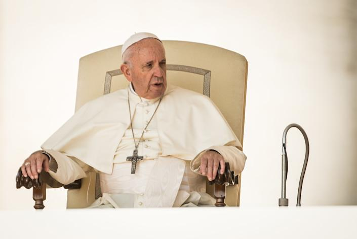 Thousands of Catholic women want better answers from Pope Francis. (Photo: Giulio Origlia via Getty Images)
