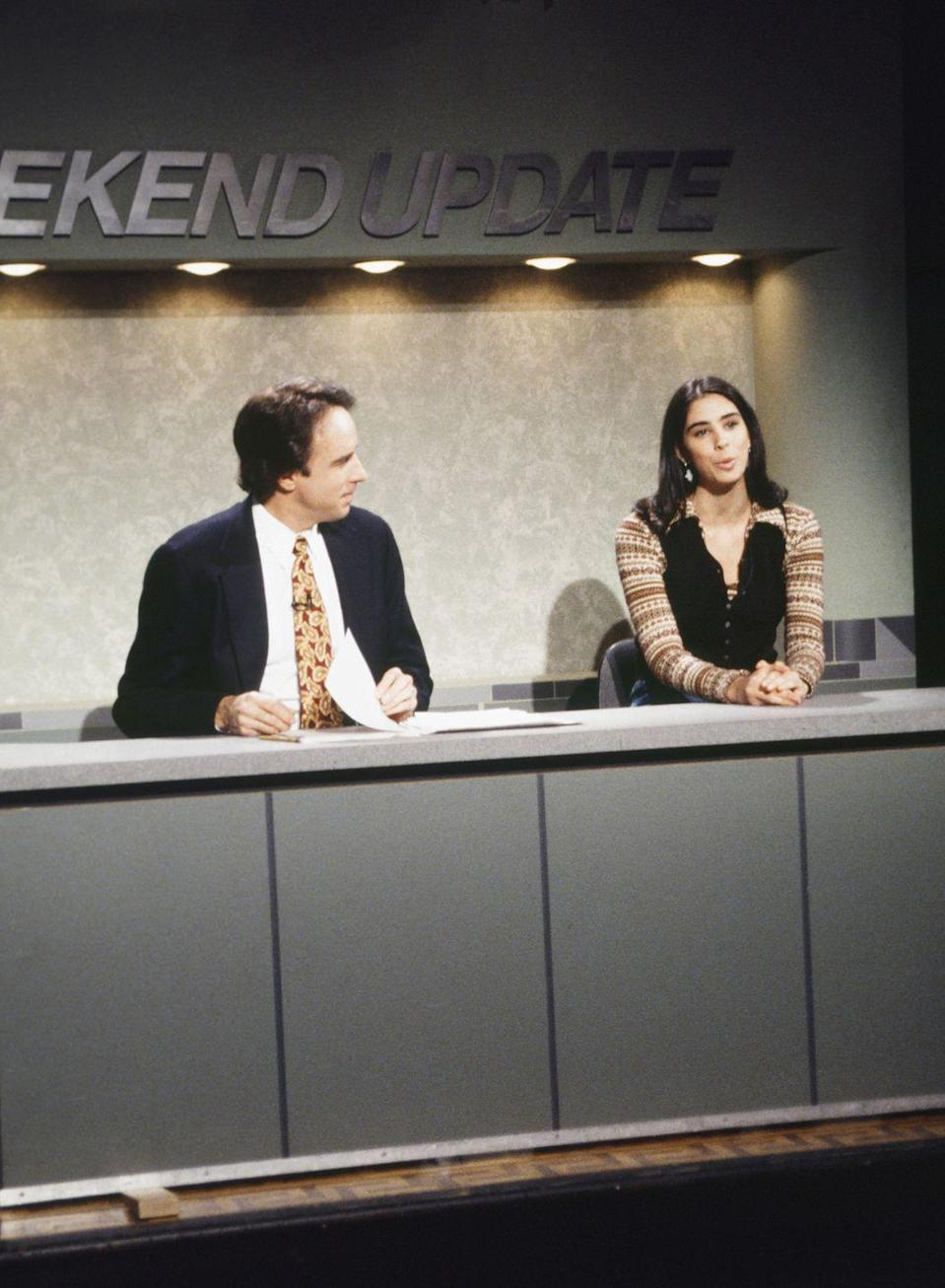 <p>Given her flair for pushing boundaries, it's surprising that Sarah Silverman's stint on <em>SNL </em>was largely unremarkable. She appeared in only a handful of sketches and not one of the skits she wrote ever made it to air.</p>