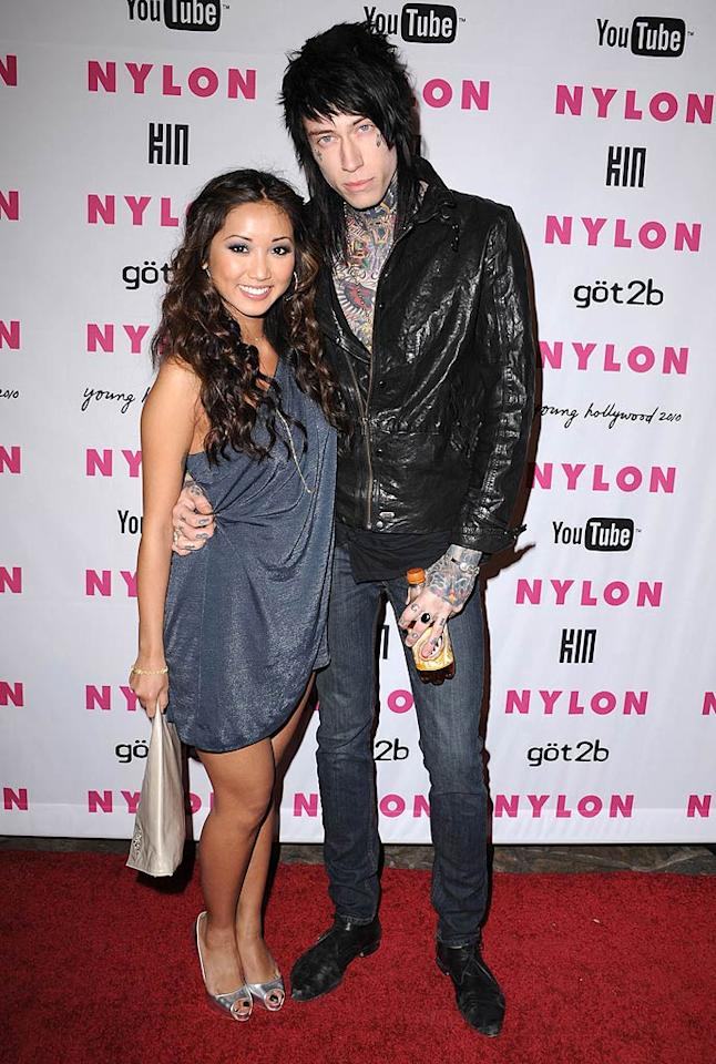"What's more troubling: Trace Cyrus' facial tattoos or the fact that Disney darling Brenda Song is willing to date Miley's big bro? Steve Granitz/<a href=""http://www.wireimage.com"" target=""new"">WireImage.com</a> - May 12, 2010"