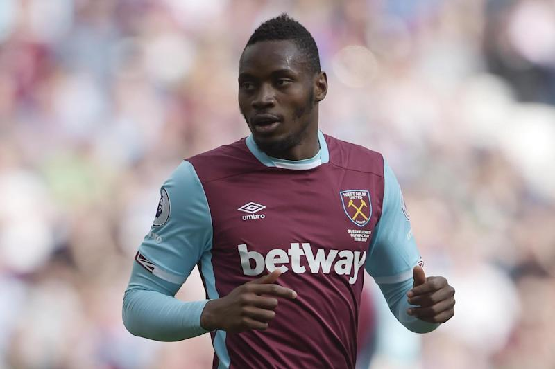 Ruled out: Diafra Sakho: West Ham United via Getty Images