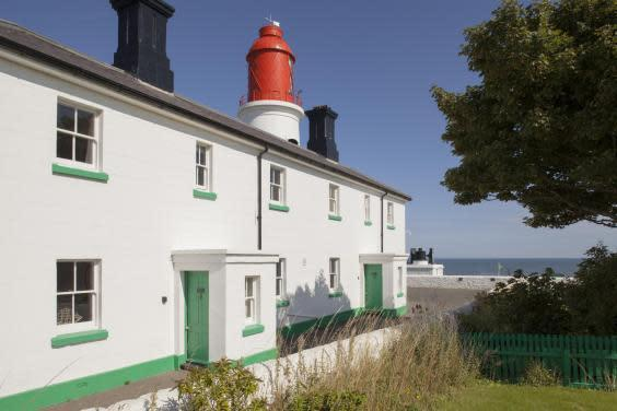 Wake up next to the world's first electric lighthouse (National Trust)